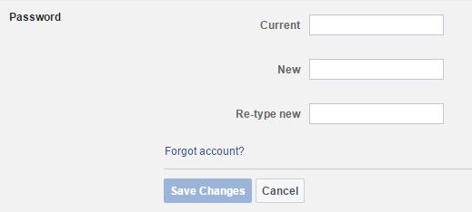 फेसबुक पासवर्ड कैसे बदले