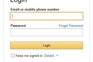 Create Your Amazon Account पर क्लिक करना हैं।