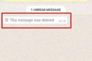 Whatsapp Deleted Message कैसे देखे और पढ़े