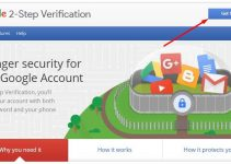 Gmail 2 Step Verification enable