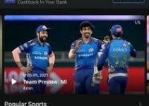 IPL Live Match App Website